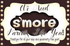 S'more End of the Year Parent Gifts