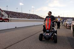 NEWS: Tony Stewart Donates Custom Scooter to Darrell Gwynn Foundation    Scooter Stewart Used After Breaking Leg in Sprint Car Crash To Be Auctioned Off at Barrett-Jackson
