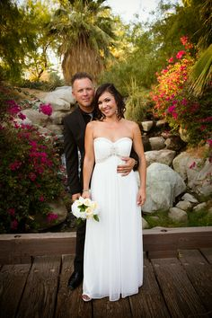 Real Wedding ♥ Jamie and Phil ♥ Outdoor ceremony #golfcoursewedding #outdoorwedding #outdoorceremony #desertwedding #californiawedding #palmspringswedding #palmdesertwedding #southerncaliforniawedding #brideandgroom