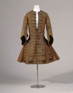 Rock (Justaucorps) ca. 1695  Wool and silk