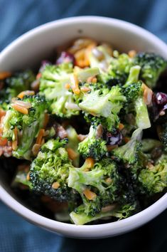 Broccoli Salad (change out the sugar as needed)