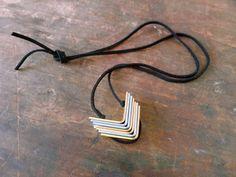 Thanks, I Made It : DIY Hardware Bracket Necklace