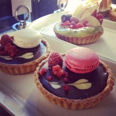 Sweet treats at Belle Époque ..