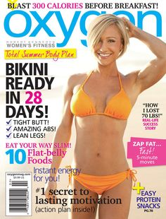 Jamie Eason on cover of Oxygen Magazine!