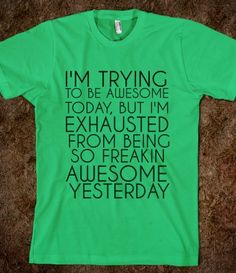 AWESOME...this is SO us Kelly!