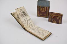 A Fine 18th Century Leather Pocket Calendar