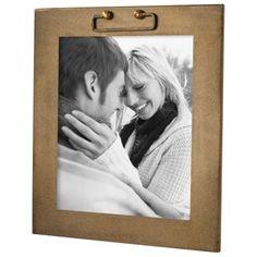 Nate Berkus Banc Frame 8x10 - Gold