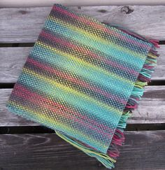 Woven Scarf out of Knit Picks Chroma! By heidimonkey on Ravelry.