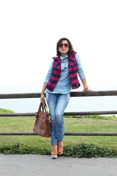 el diario de Pink Chick: Denim on denim....¡again!