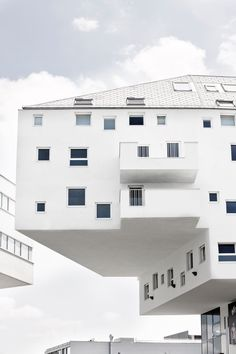 Doninpark - an eight-story residential, office and retail building by LOVE Architecture and Urbanism