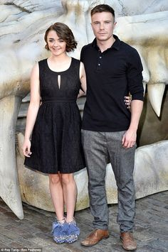 Maisie Williams couple