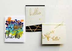 2 part video tutorial on working with gilding flakes--this stuff is AMAZINGLY GORGEOUS!!! In Touch Newsletter article for www.ellenhutson.com