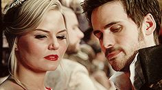 Killian and Emma - Captain Swan - Once Upon a Time - they are just so good for each other <3