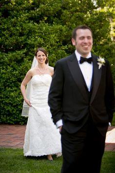 Maryland Wedding First Look
