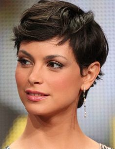 Wavy Pixie Hairstyles 2014 - Morenna Baccarin