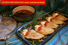 TRADITIONS: Learn how to make these Traditional Mexico City-style Quesadillas in our new book, Celebraciones Mexicanas: History, Traditions and Recipes available for pre-ordering at http://www.amazon.com/Celebraciones-Mexicanas-Traditions-AltaMira-Gastronomy/dp/0759122814