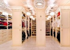 walk-in closet all the way!