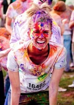 My goal is to do the paint run....and also the mud run!