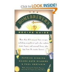 A group of experienced homebrewers offers a collection of recipes for pale ales, ambers, stouts, lagers, and seasonal brews, along with tips for brewing at home, drinking trivia from famous writers, and other beer lore. 25,000 first printing.