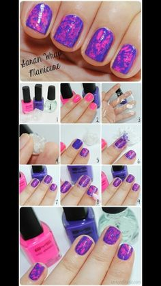 Cute and easy nails !!