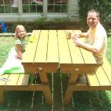 Benches that turn into picnic tables room ornament Picnic table that turns into a bench