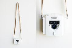 Olympus Ecru film camera