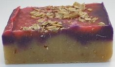 Lilac and Oatmeal soap.  Got to try it.http://www.facebook.com/luxnatsoap