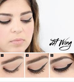 Ink it strong. Find out how to get the Jet Wing look on the #Sephora Glossy>