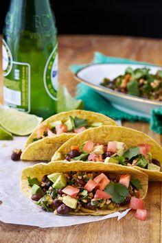 Steel-cut oat taco recipe and review at VeggieGirl.com #oatrageous