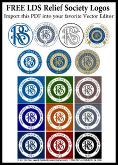 Relief Society Logos/Clipart