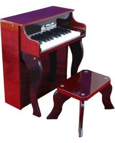 Inspire budding musicians with this mini piano fit for kids' rooms (and uses a play-by-color teaching method). Click above to buy one, then prepare to enjoy concerts!