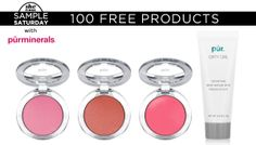 We're giving away 100 Pür minerals blushes AND a Mudd mask–no thanks necessary