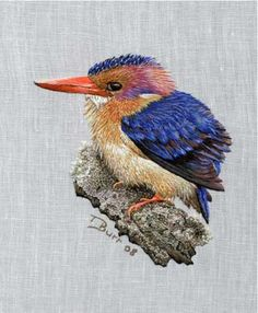 Thread painting by Trish Burr. Beautiful!!!!