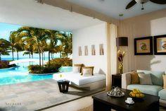 Beautiful swim-up suite at Secrets Aura Cozumel.