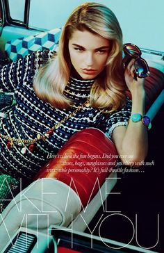 Elle UK May 2012 Editorial - Yuliana Dementyeva