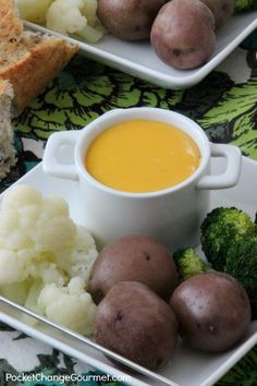 Irish Cheese Fondue