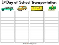 MEET THE TEACHER NIGHT: Printable forms for parents to fill-out and activities for the kiddos!