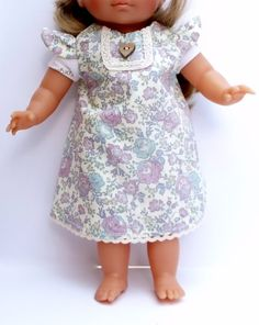 Liberty Felicitie fabric Dolls Dress for dolls by TheDollsWardrobe, £12.00