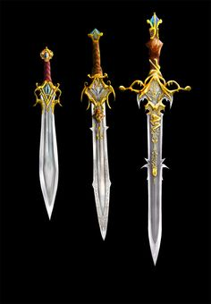 Weaponry 105 3 blades by random223 on deviantart more