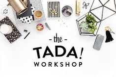 Pretty Darn Cute Design: TADA! Online is now available - Learn WordPress and how to make your site pretty!