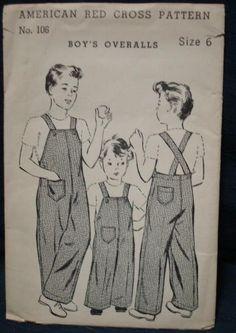 World War II Sewing Pattern American Red Cross by kinseysue, $26.00