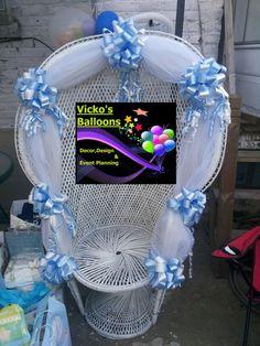 sillas para baby shower