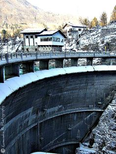 Lake Barcis Dam, Italy