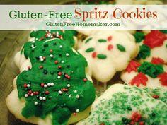 Gluten-Free Spritz Cookies | The Gluten-Free Homemaker