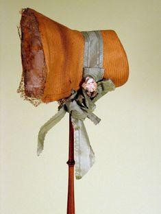 Lady's Straw Bonnet, Late 1820s