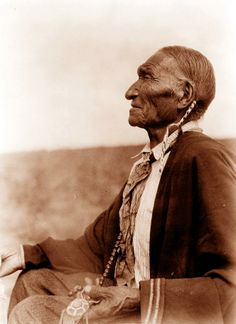 Edward S. Curtis Old Indian
