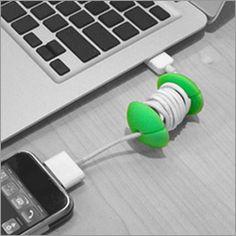 Cord wrapper #apple