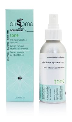 Tone Intense Hydration, an organic and natural toning mist for normal, combination, and dry skin types with aloe, cucumber, and herbs