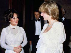 Elizabeth Taylor & Lady Di
