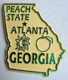 Georgia: The Peach State.